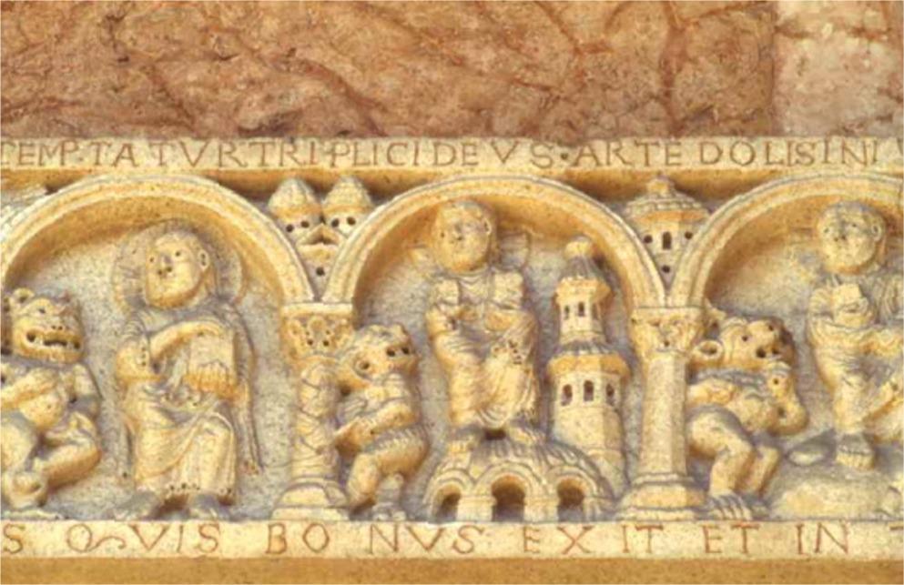 Niccolò cattedrale di Piacenza XII sec