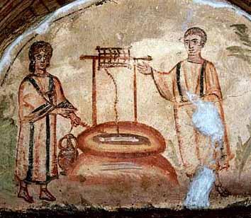samaritana-al-pozzo ipogeo via Dino Compagni cubicolo F IVsec.