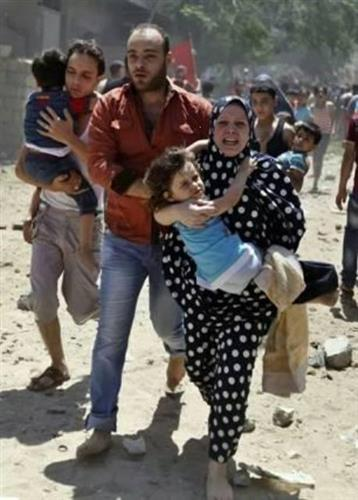 foto Oxfam Gaza 21 luglio 2014