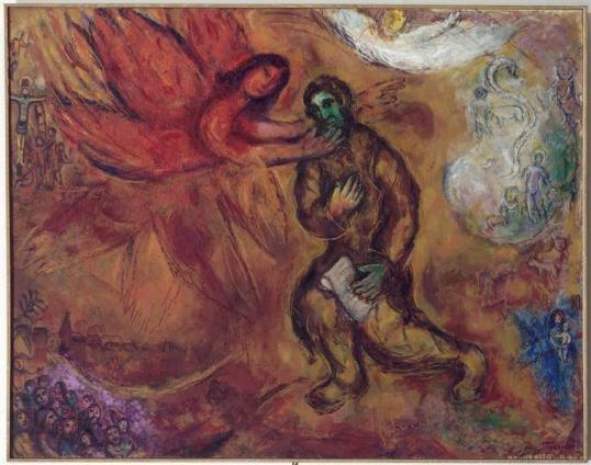 Marc-Chagall-Prophet-Isaiah
