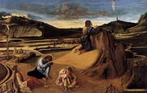 agony in the garden 1465 National Gallery
