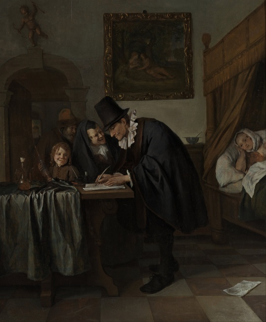 Jan_Havicksz._Steen_-_The_Doctor's_Visit 1665.jpg