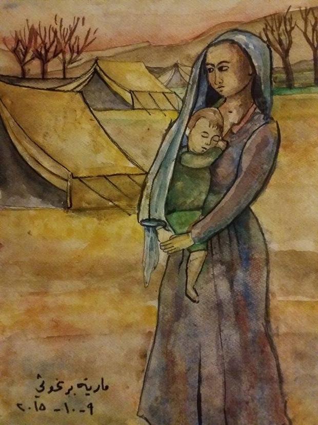 maria-barghouthy-refugee-camp