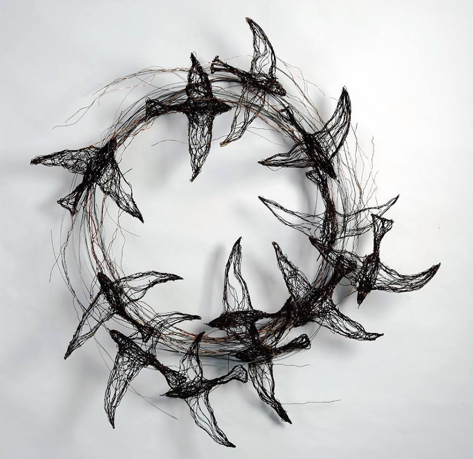Celia Smith -- Bird-Sculptures-made-from-Wire.jpg