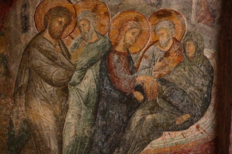 guarigione suocera di Pietro - Mistra Grecia.jpg