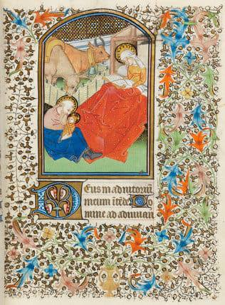 Fitzwilliam Museum Cambridge, Book of Hours, Ms 69, 15° sec.