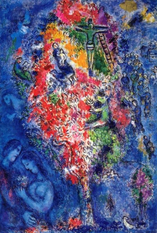 Marc Chagal albero di Iesse