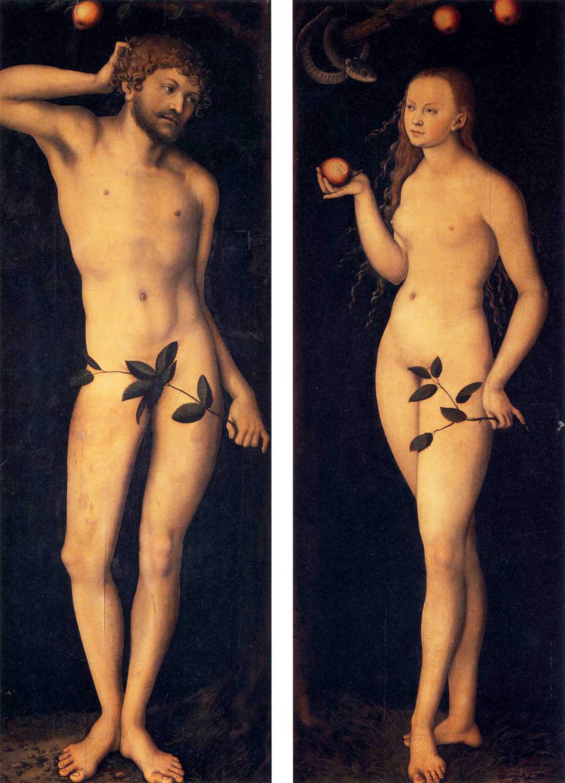 Cranach,_adamo_ed_eva,_uffizi-1
