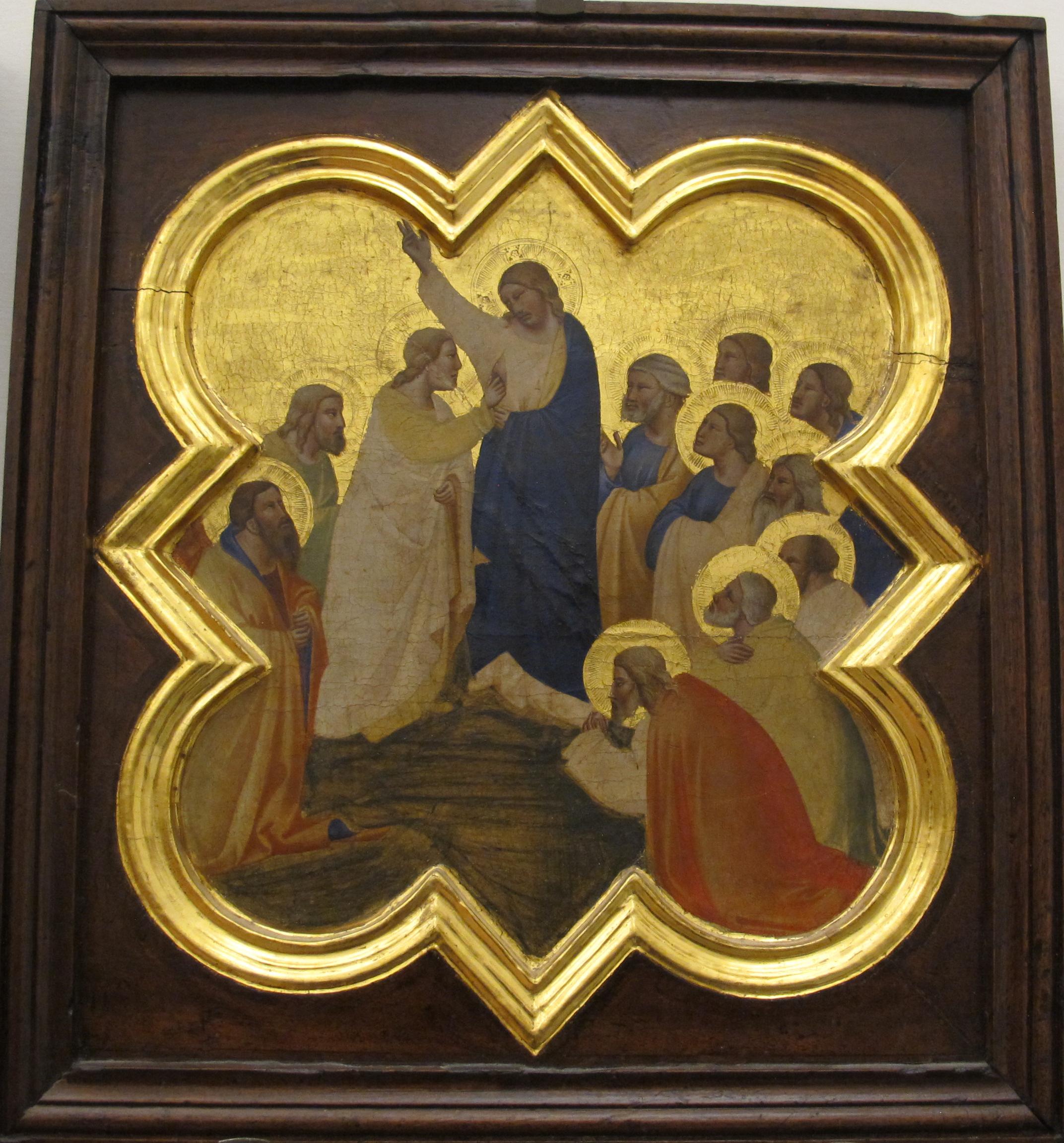 Taddeo Gaddi, armadio di s.croce,1335-40